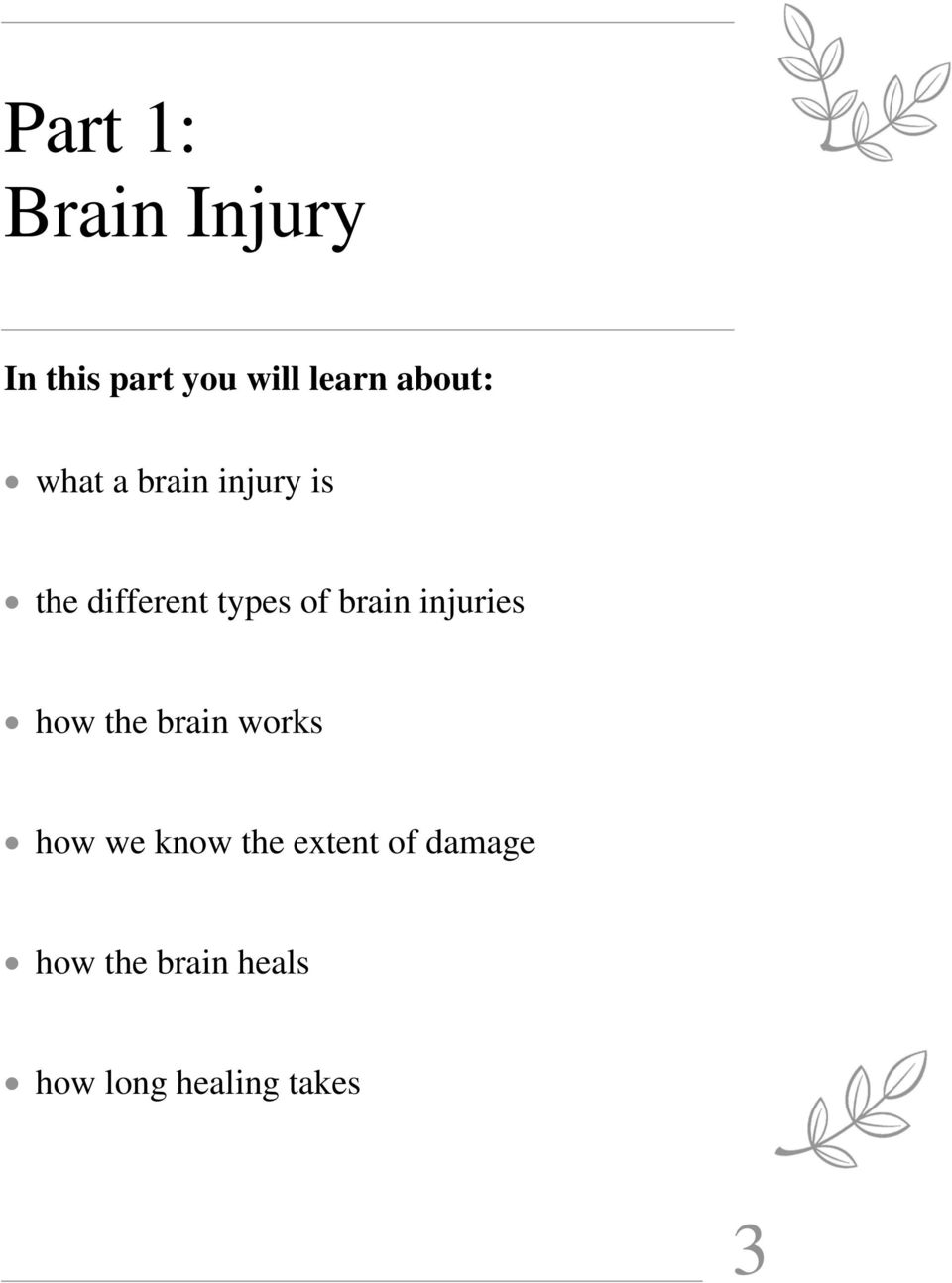 brain injuries how the brain works how we know the