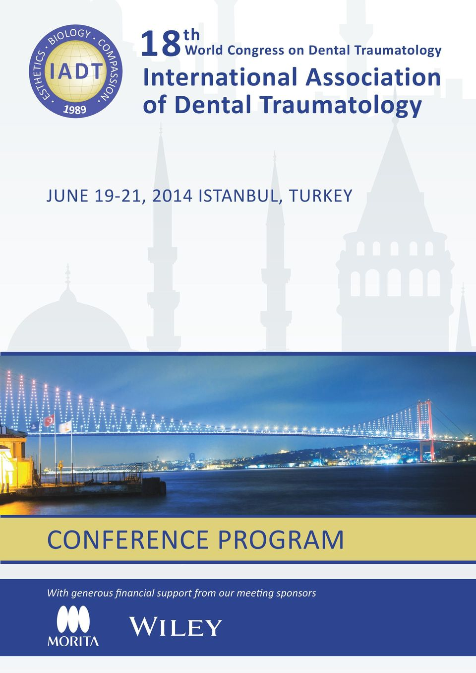 Association of Dental Traumatology JUNE 19-21, 2014