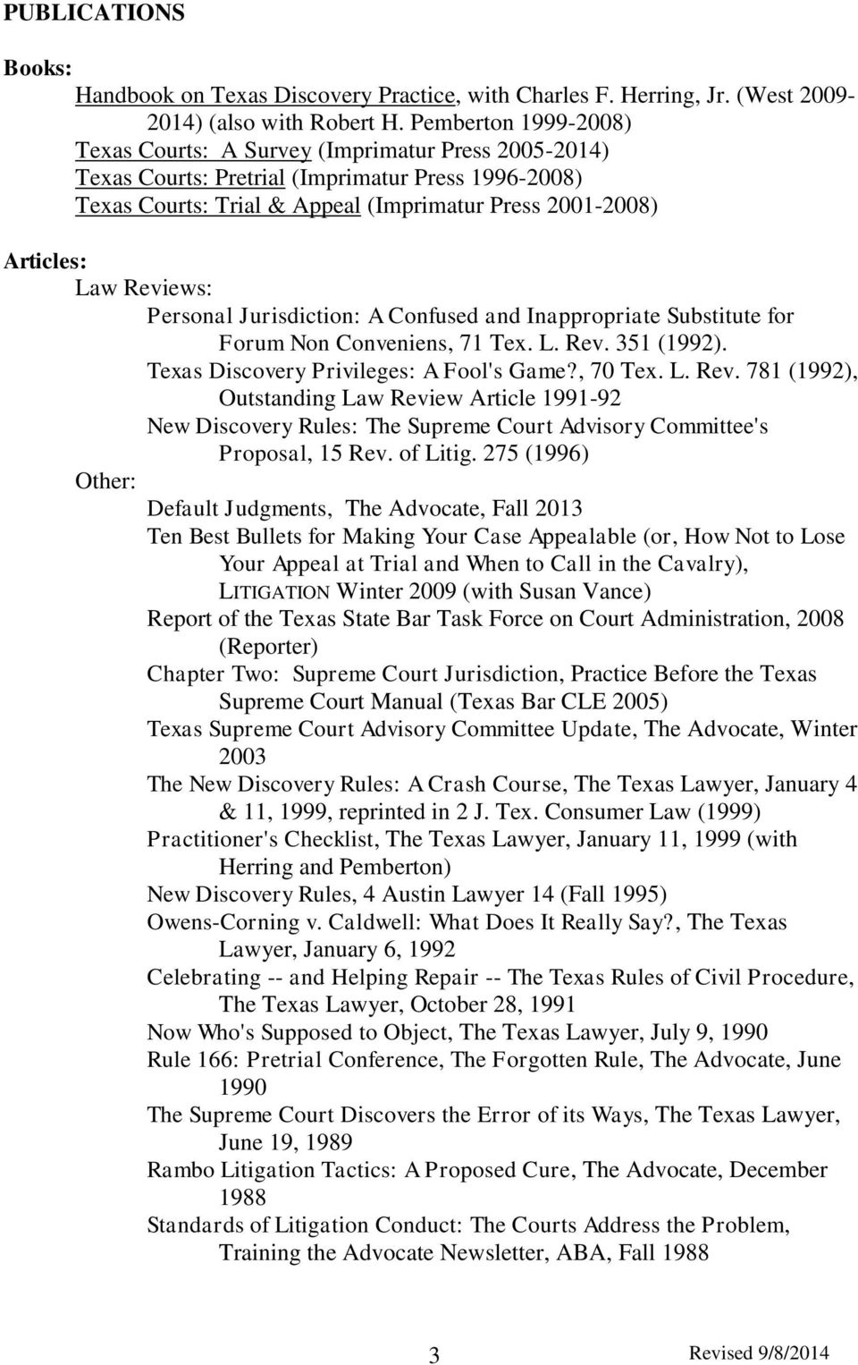 Reviews: Personal Jurisdiction: A Confused and Inappropriate Substitute for Forum Non Conveniens, 71 Tex. L. Rev.