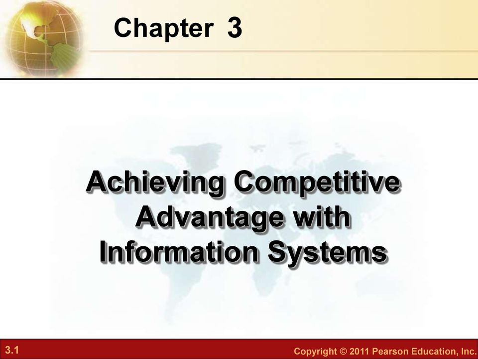 Information Systems 3.