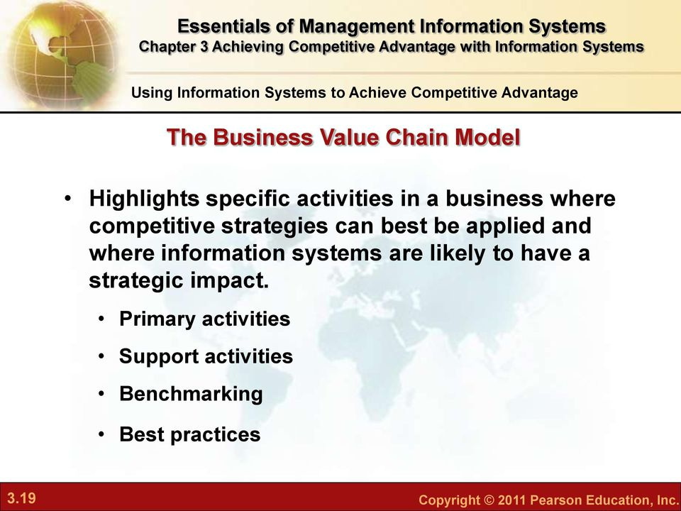 systems are likely to have a strategic impact.