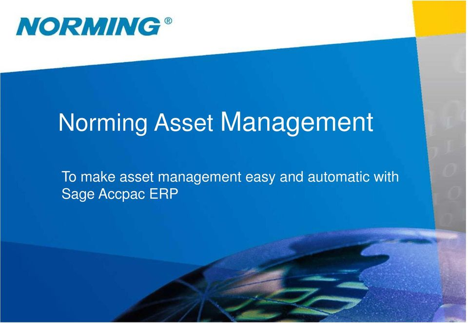 asset management easy