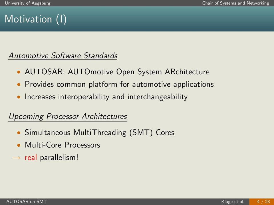 interoperability and interchangeability Upcoming Processor Architectures