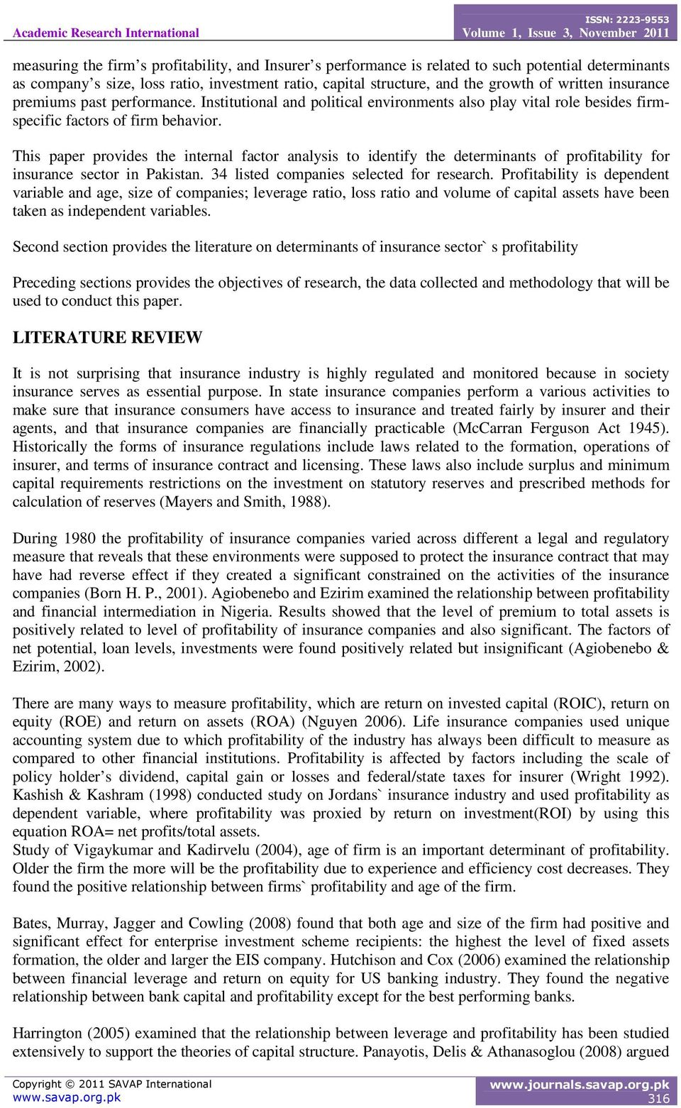 literature review on risk management in banks