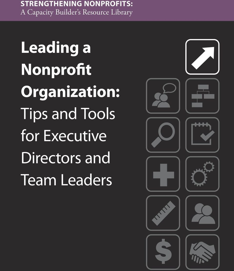 Nonprofit Organization: Tips and Tools