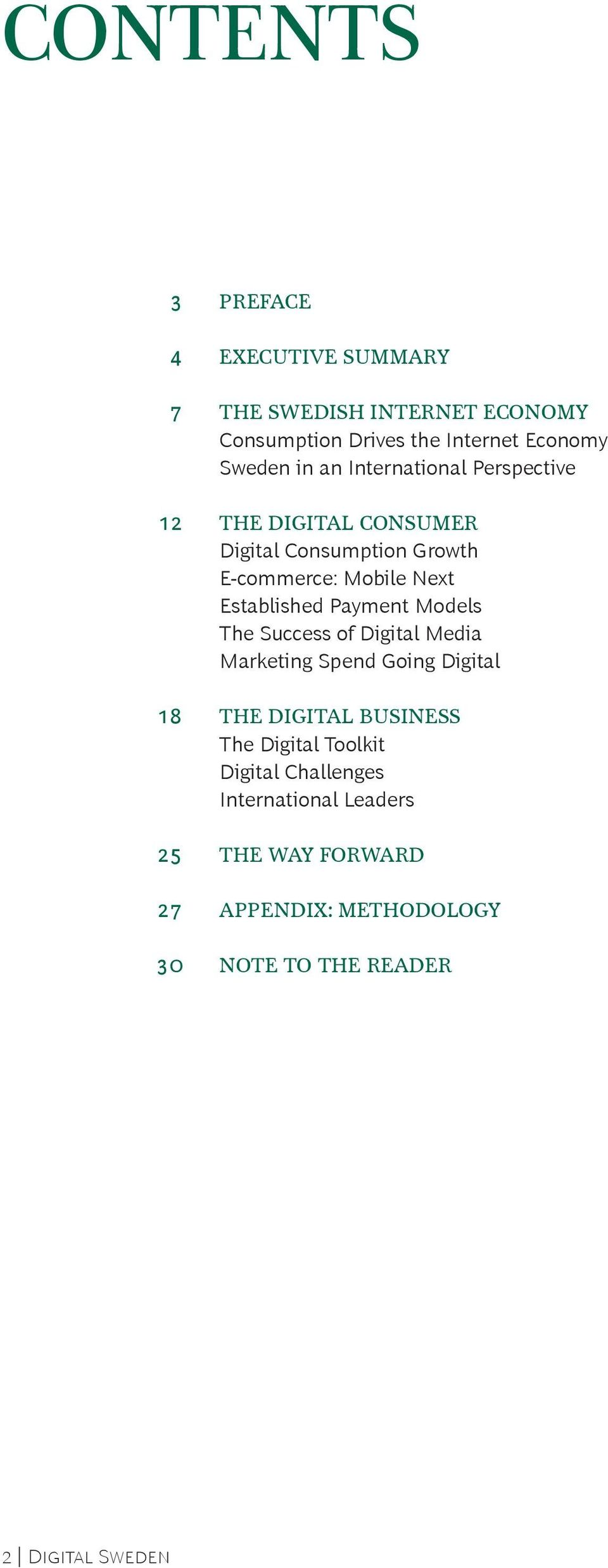 Payment Models The Success of Digital Media Marketing Spend Going Digital 18 The Digital Business The Digital Toolkit