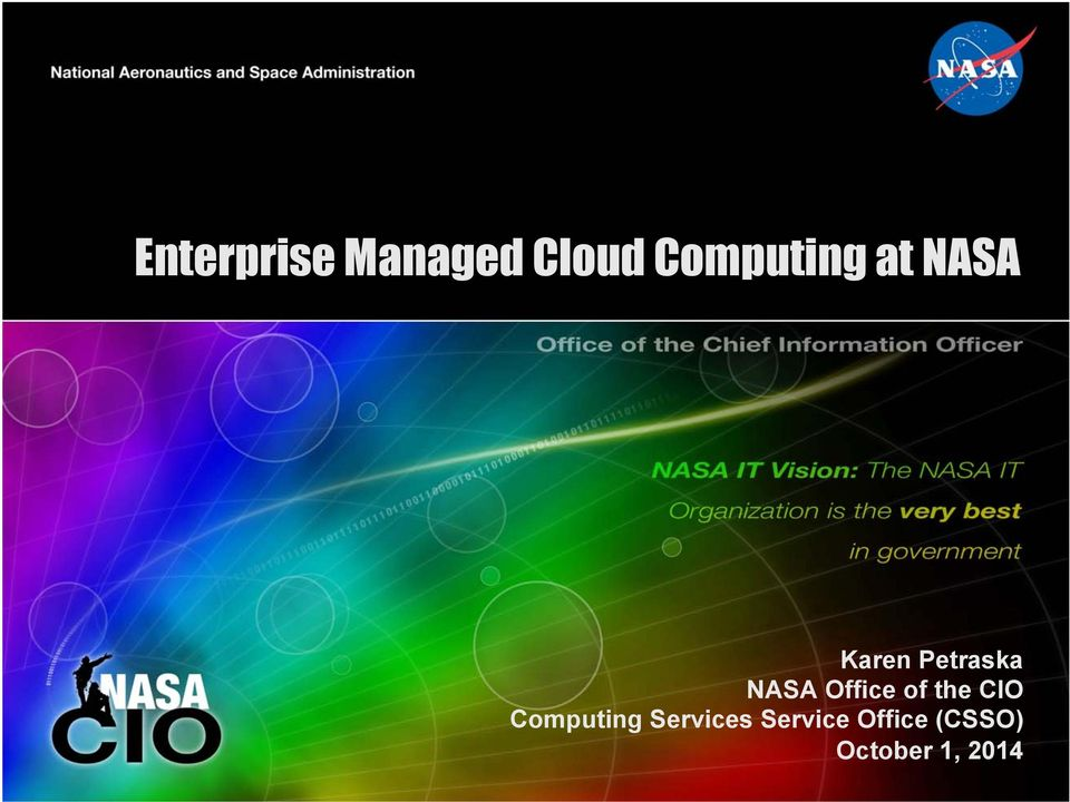 of the CIO Computing Services