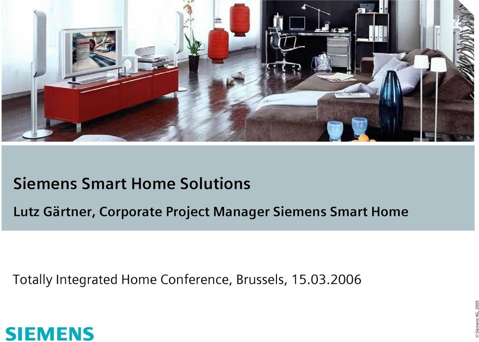 siemens smart home solutions pdf. Black Bedroom Furniture Sets. Home Design Ideas