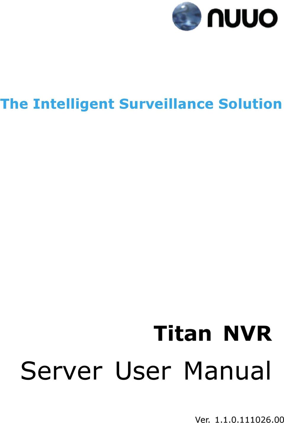 Titan NVR Server User