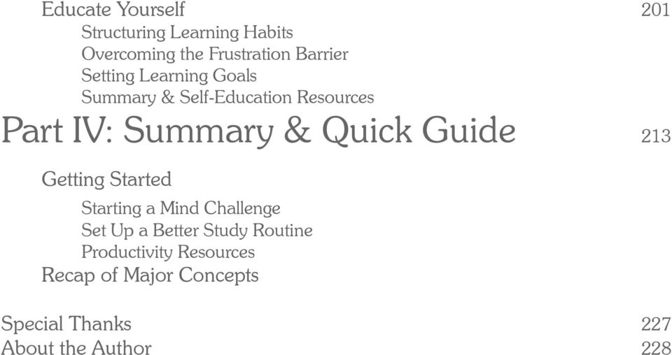 Guide 213 Getting Started Starting a Mind Challenge Set Up a Better Study Routine
