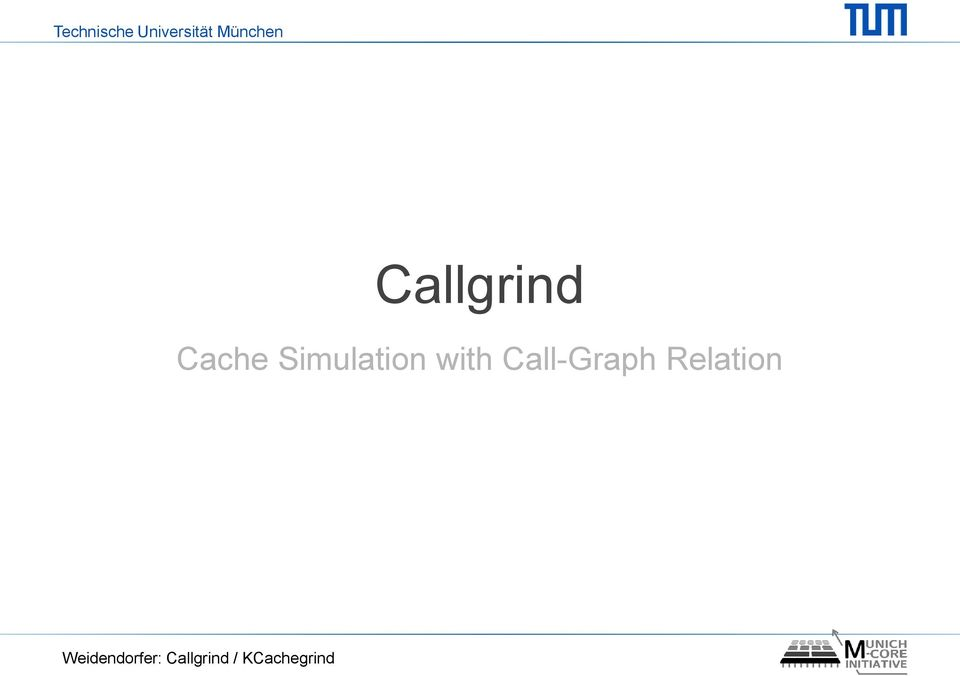 Call-Graph Relation