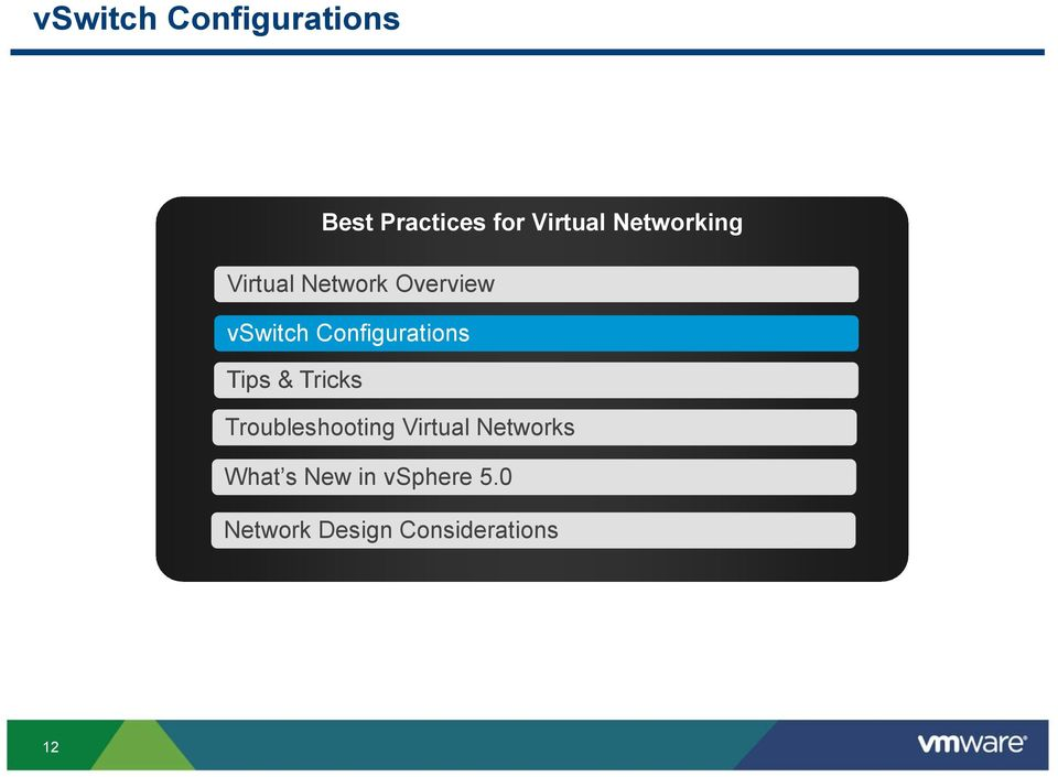 Configurations Tips & Tricks Troubleshooting Virtual