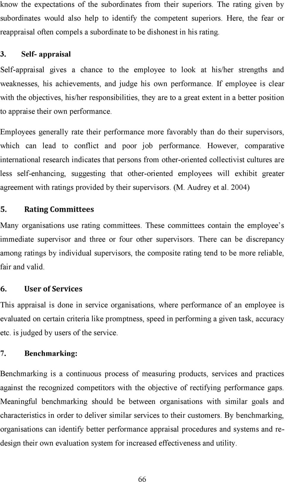chapter 3 performance appraisal parameters pdf self appraisal self appraisal gives a chance to the employee to look at his