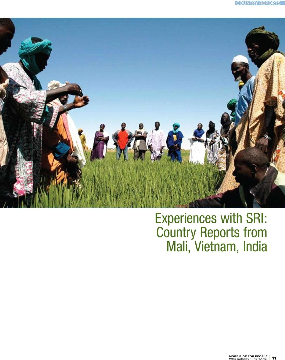 SRI: Country Reports
