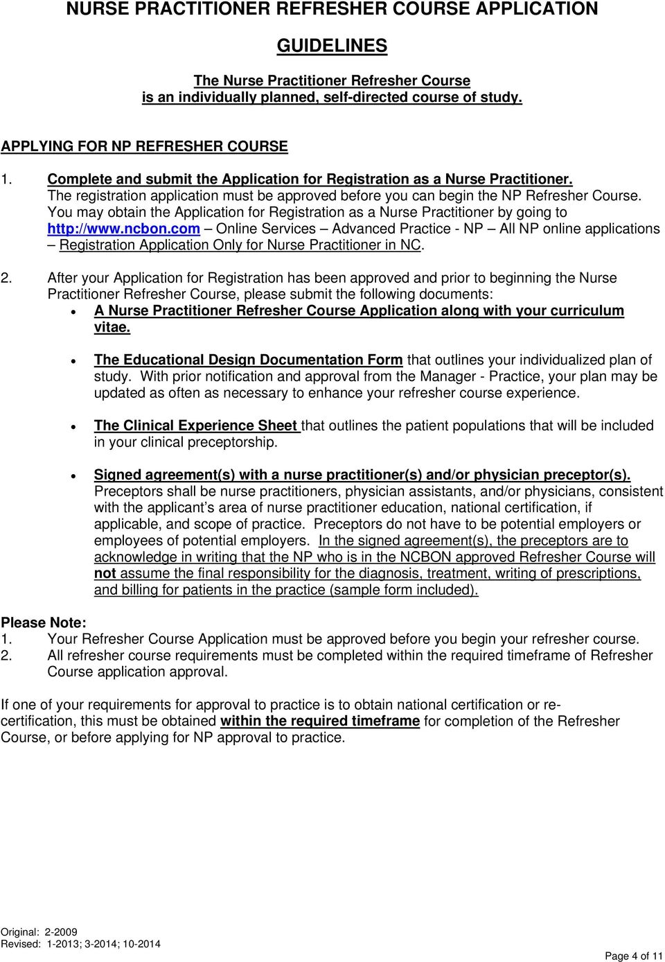 Nurse practitioner refresher course application packet pdf you may obtain the application for registration as a nurse practitioner by going to http 1betcityfo Images