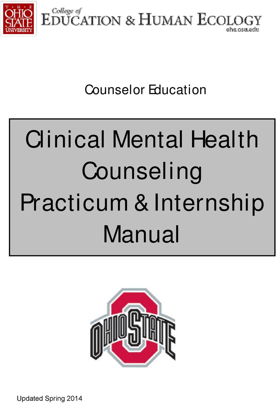 Counseling Practicum &