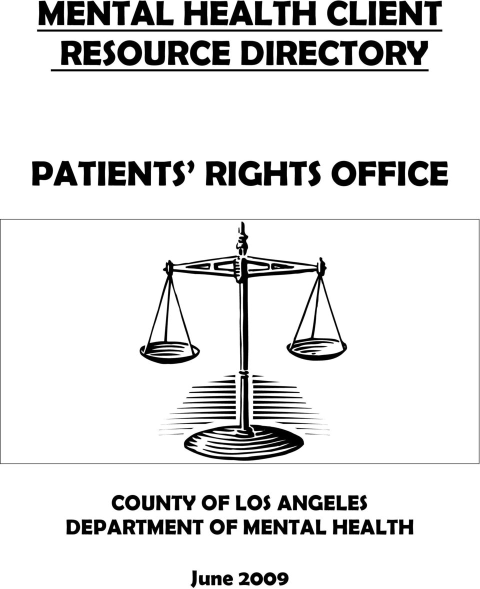 OFFICE COUNTY OF LOS ANGELES