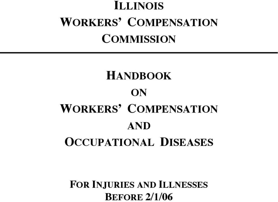 COMPENSATION AND OCCUPATIONAL