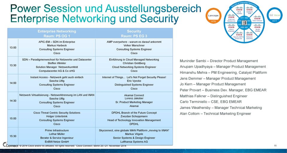 auch einfach Sascha Ulfig Consulting Systems Engineer Einführung in Cloud Managed Networking Christian Goldberg Cloud Networking Systems Engineer Internet of Things... Let's Not Forget Security Please!
