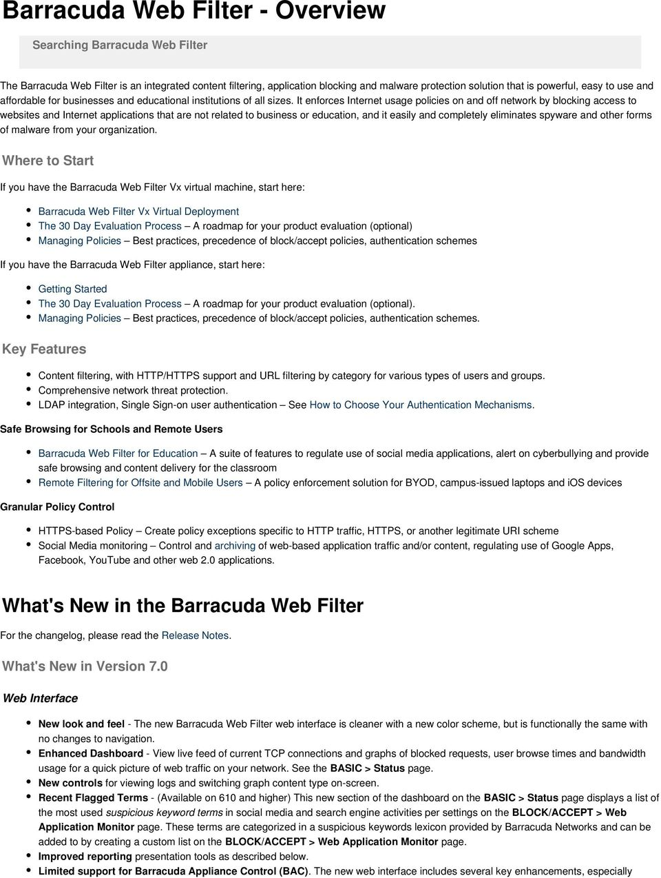 how to turn off barracuda web filter