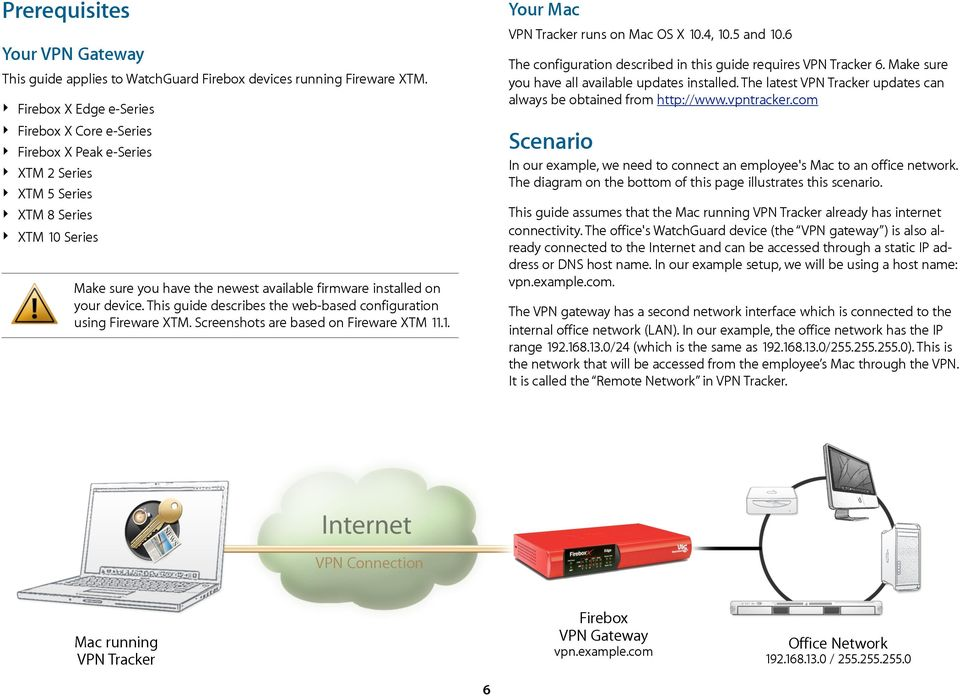 com This guide applies to WatchGuard Firebox devices running Fireware XTM.