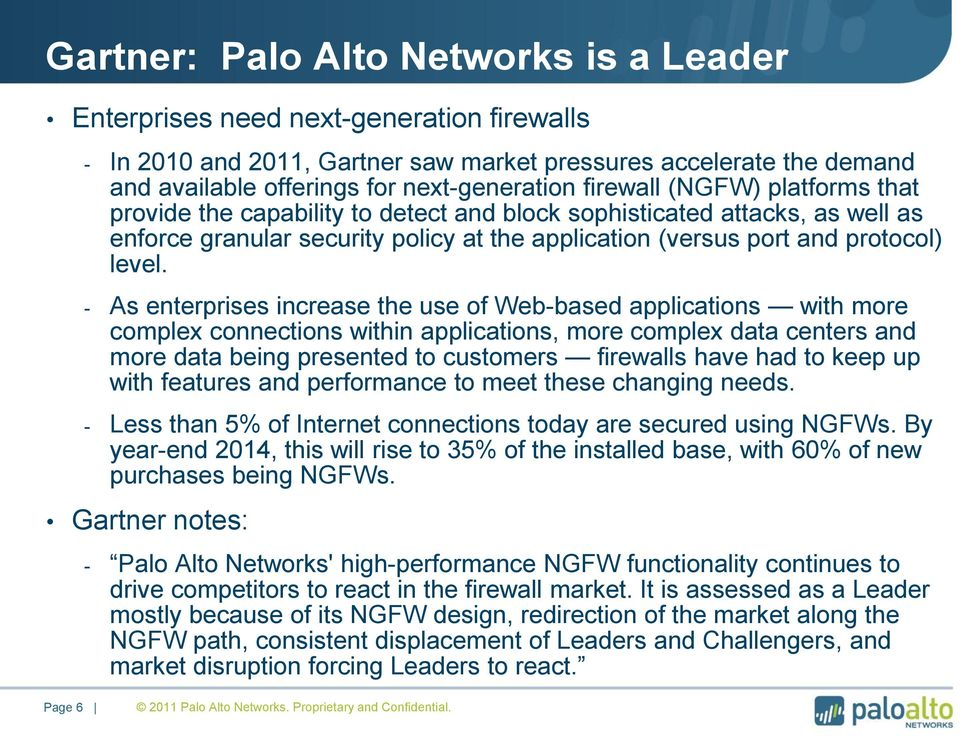 critical application visibility and control with palo alto