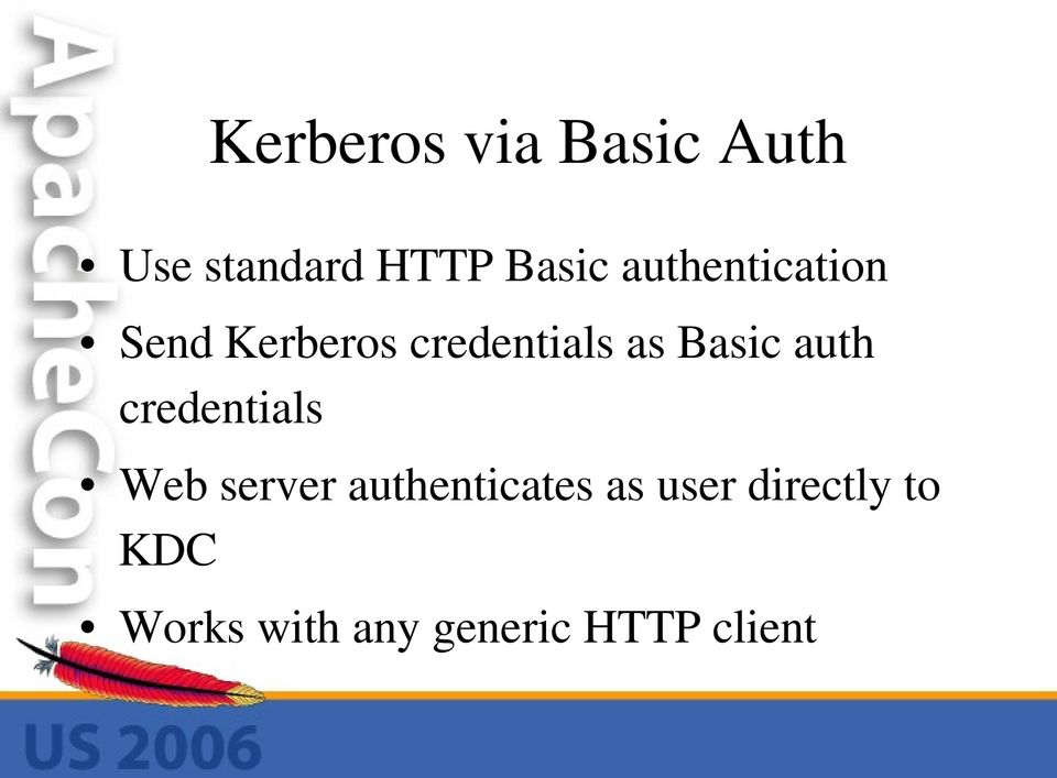 auth credentials Web server authenticates as user