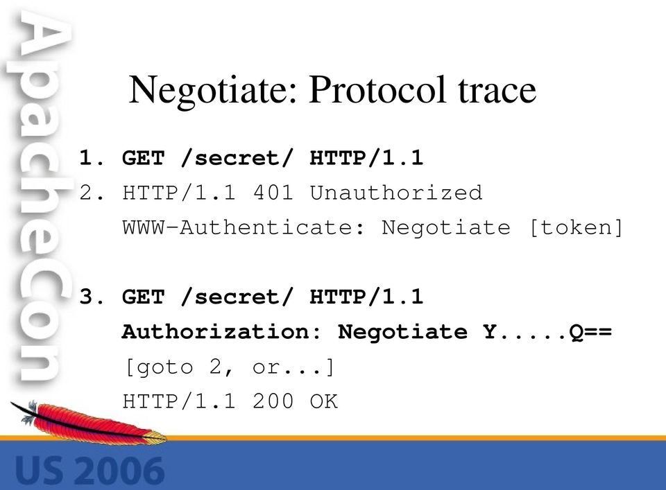 1 401 Unauthorized WWW-Authenticate: Negotiate
