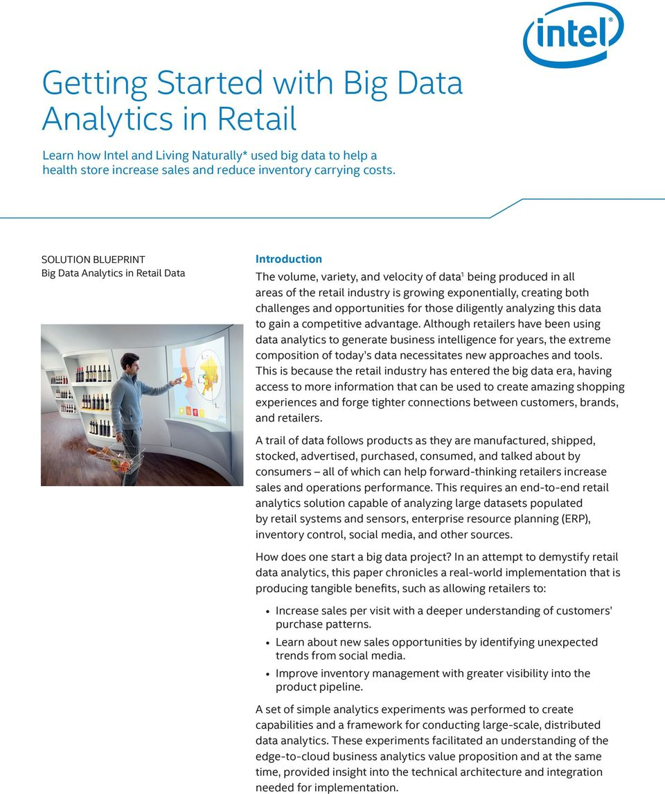challenges and opportunities for those diligently analyzing this data to gain a competitive advantage.