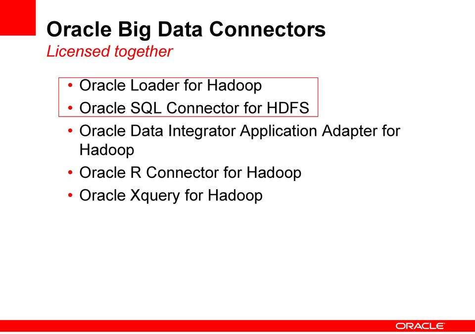 Oracle Data Integrator Application Adapter for