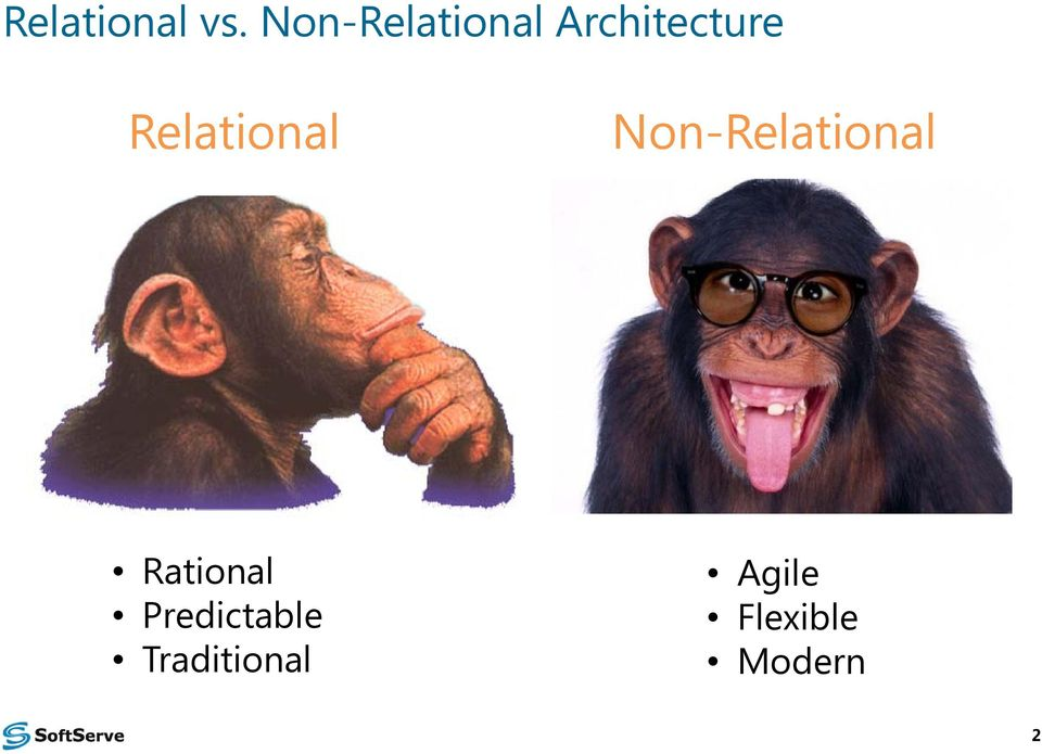 Relational Non-Relational
