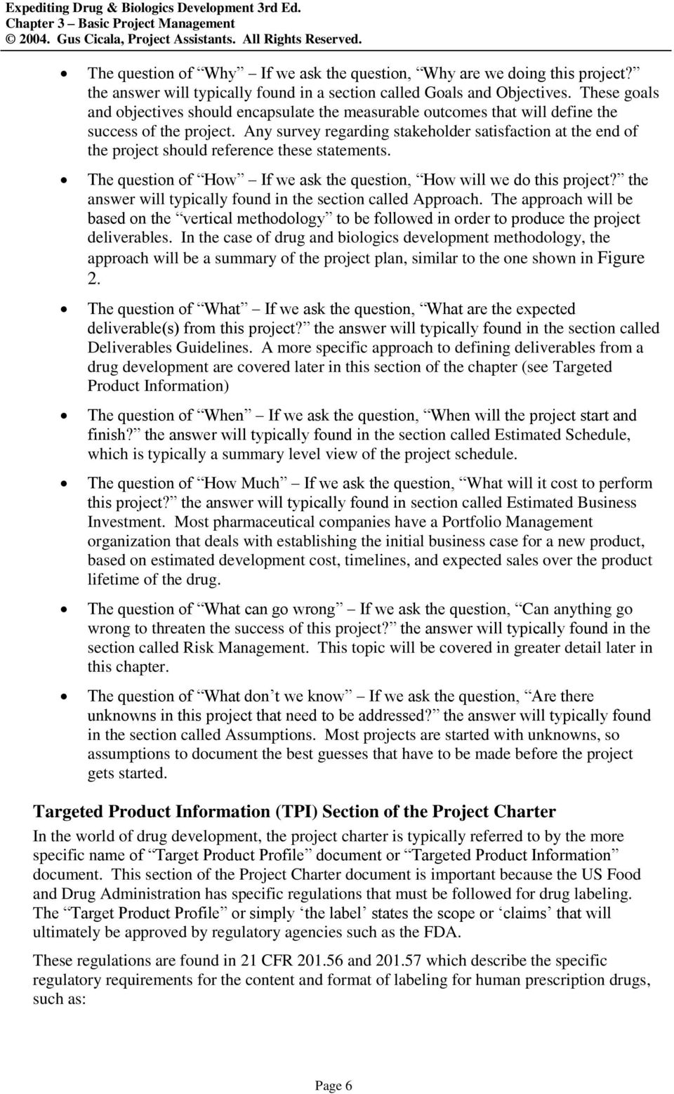 basics of project management pdf nptel
