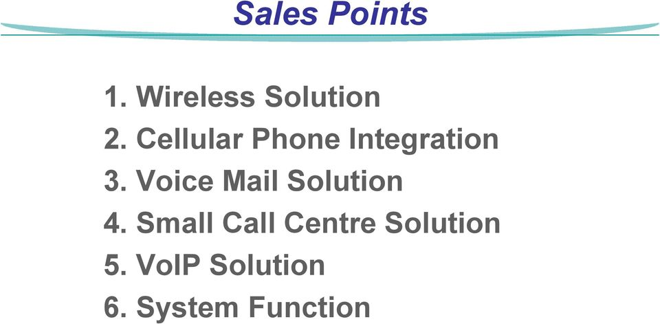 Voice Mail Solution 4.
