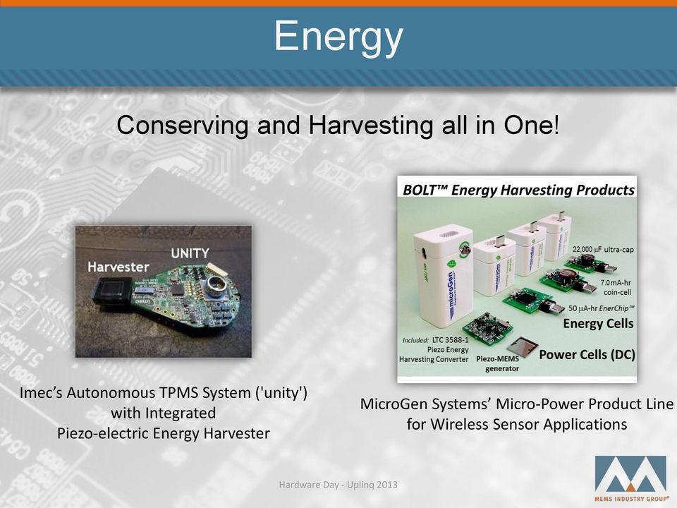 micropower energy harvesting Read micropower energy harvesting, solid-state electronics on deepdyve, the largest online rental service for scholarly research with thousands of academic.