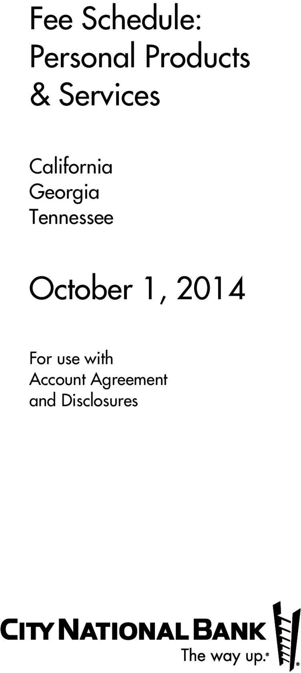 Tennessee October 1, 2014 For use