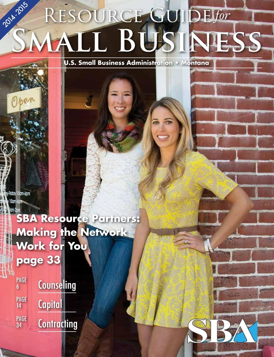 Small Business Administration Montana SBA Resource