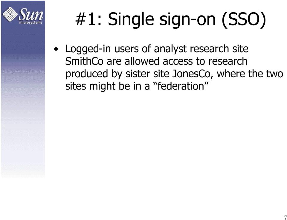 access to research produced by sister site