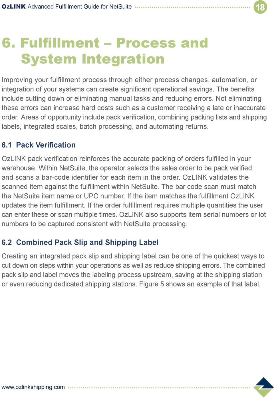 ozlink advanced fulfillment guide for netsuite pdf not eliminating these errors can increase hard costs such as a customer receiving a late or 20 19 packing slip