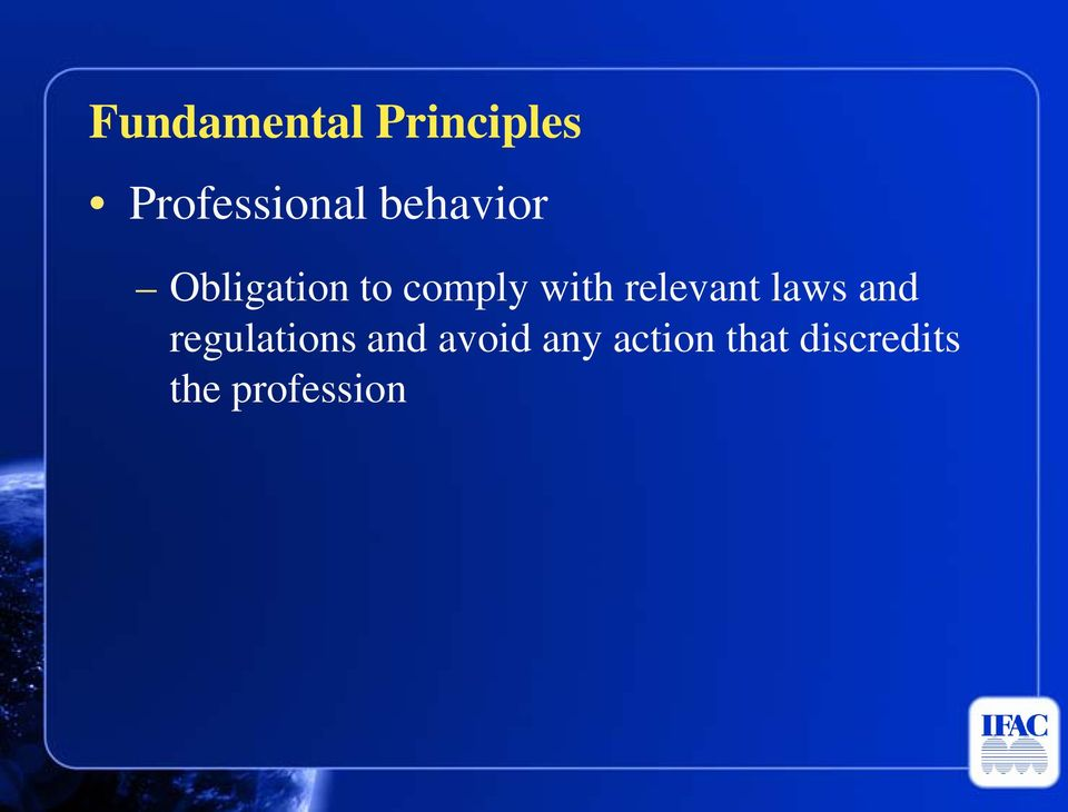 relevant laws and regulations and