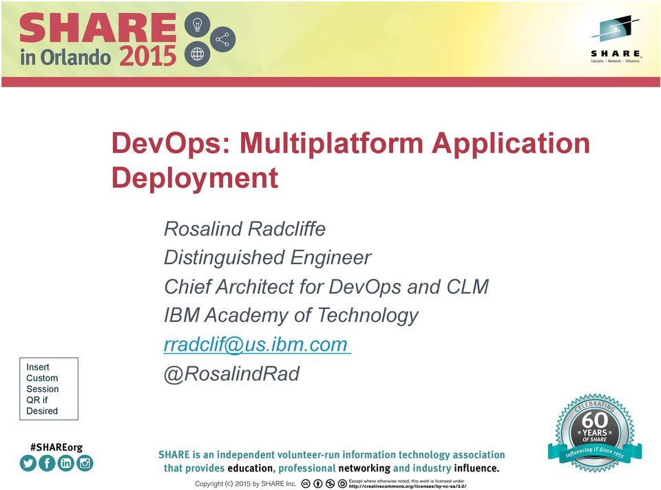 Distinguished Engineer Chief Architect for DevOps and