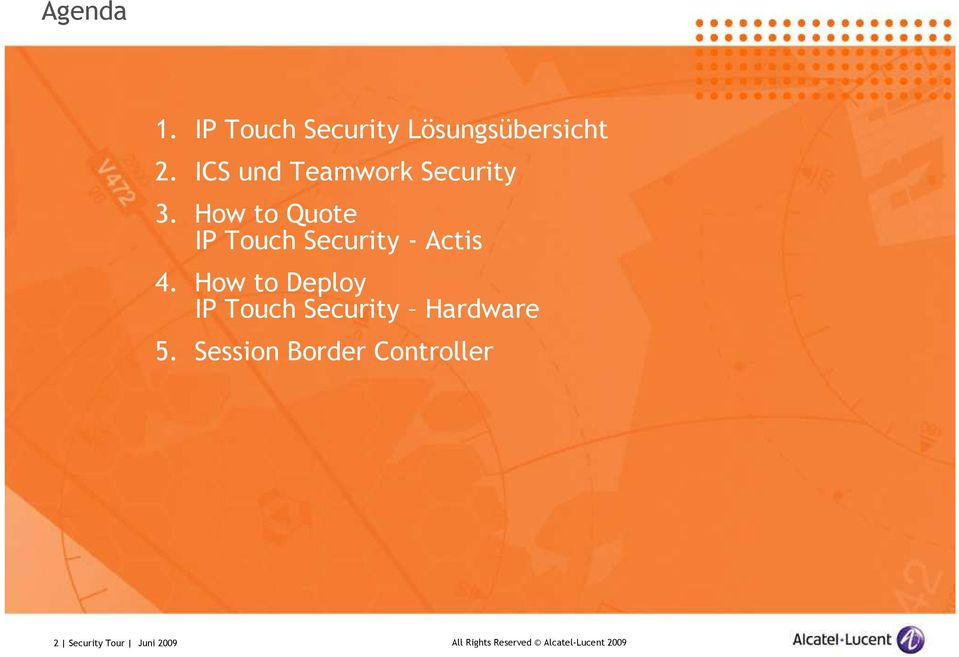 How to Quote IP Touch Security - Actis 4.
