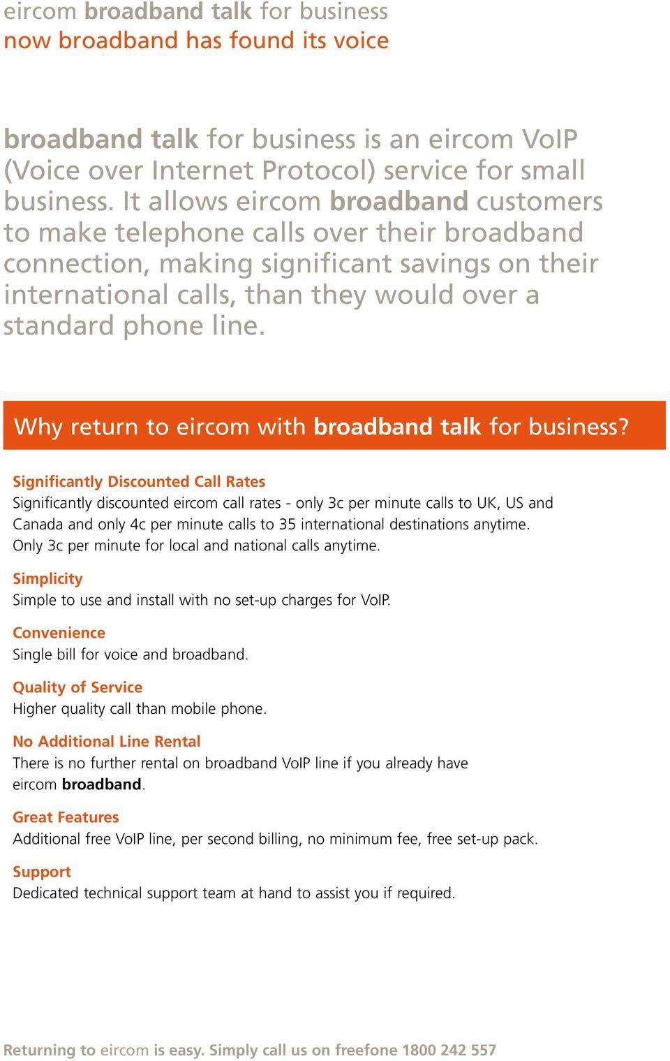 Why return to eircom with broadband talk for business?