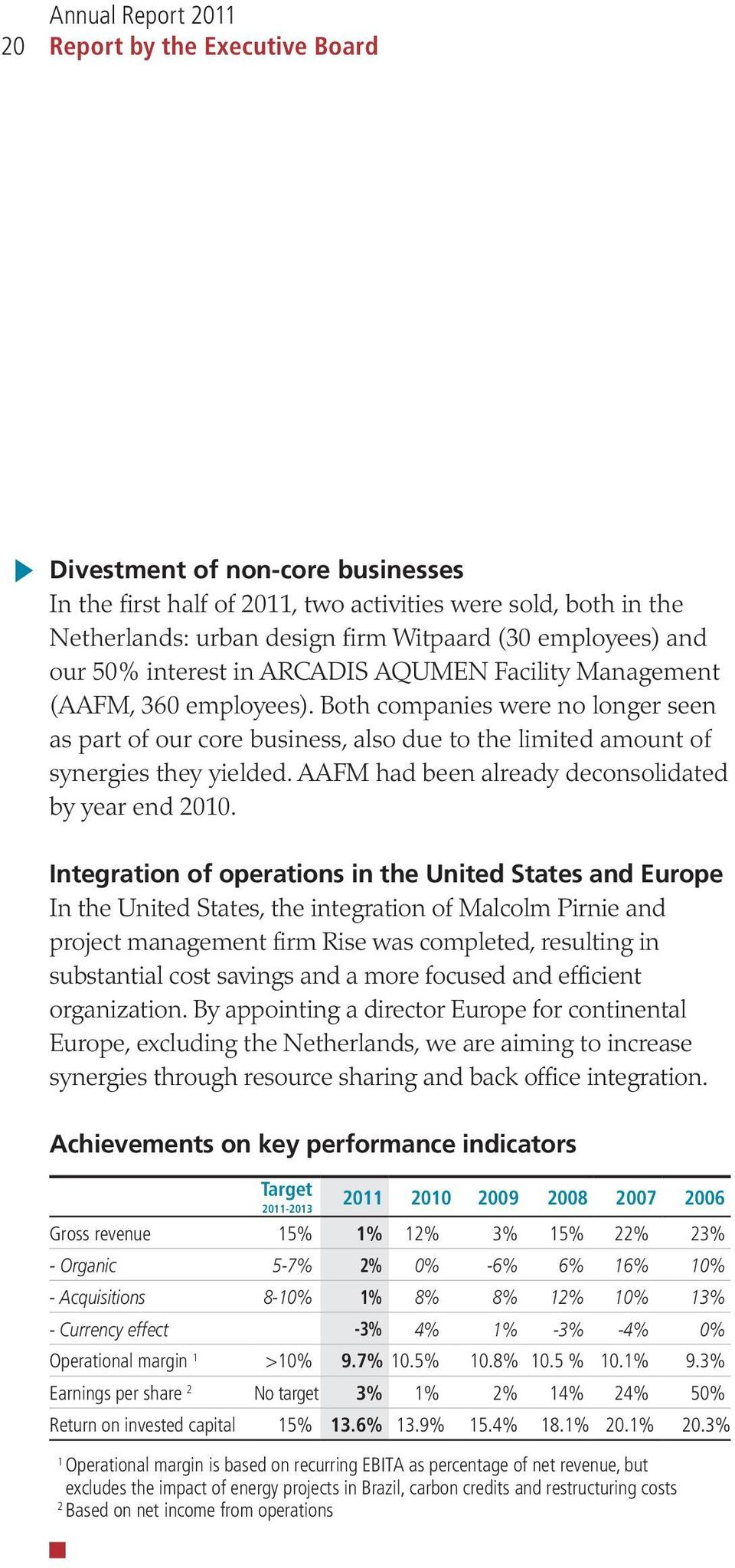 AAFM had been already deconsolidated by year end 2010.