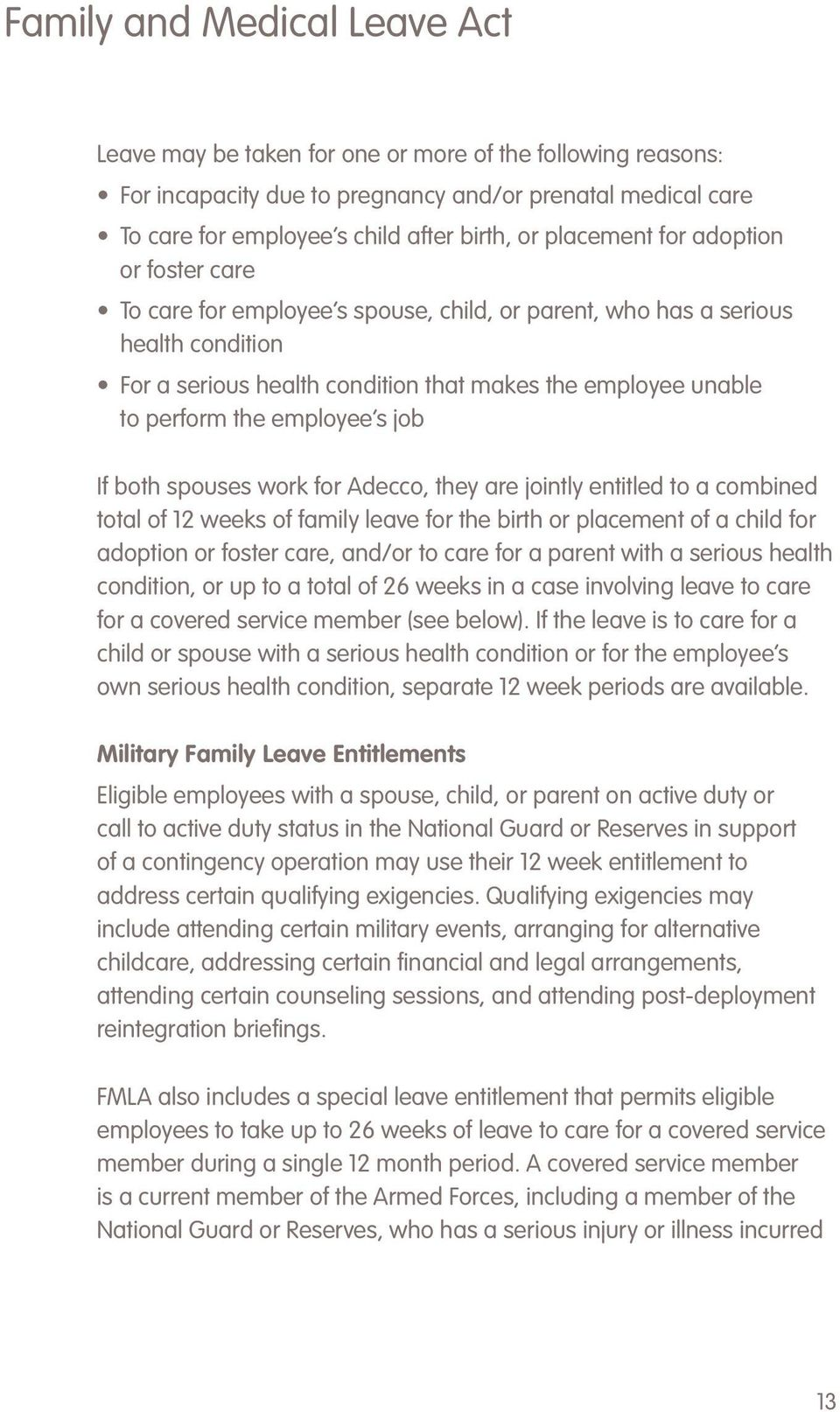 Welcome to Adecco Congratulations You are now part of the nation – Medical Certificate for Sick Leave