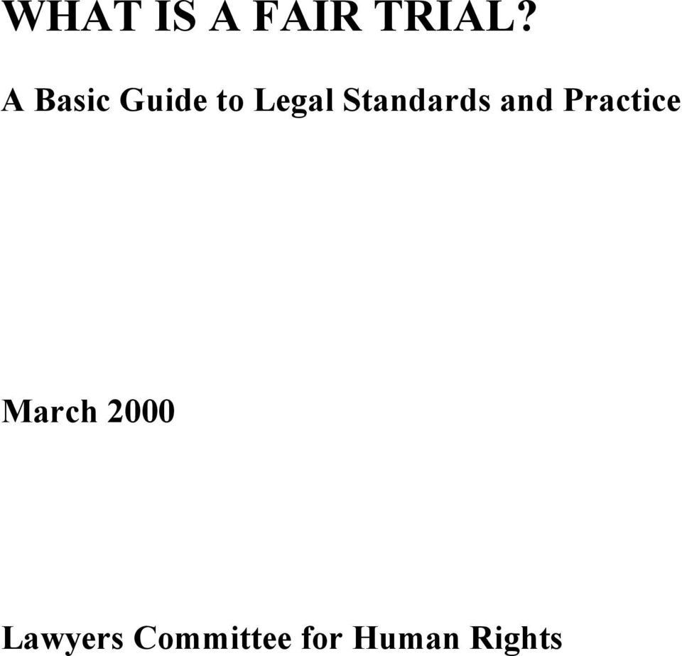 March 2000 Lawyers