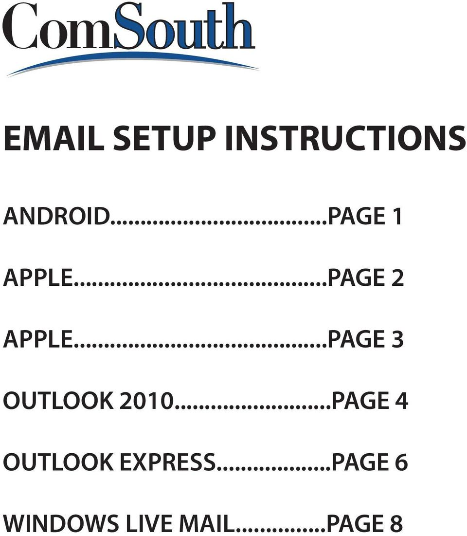 ..PAGE 3 OUTLOOK 2010.