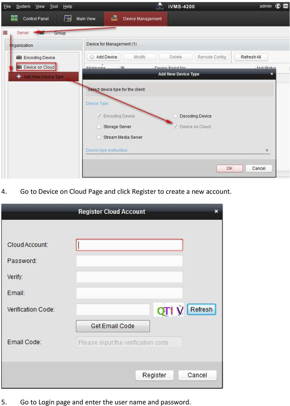 how to register a device on foxtel go