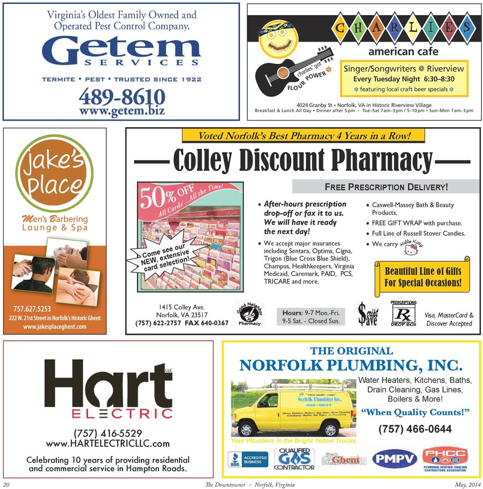 Colley Discount Pharmacy FREE PRESCRIPTION DELIVERY! Come see our NEW, extensive card selection! After-hours prescription drop-off or fax it to us. We will have it ready the next day!