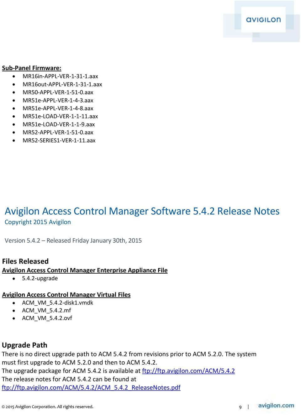 avigilon access control manager manual