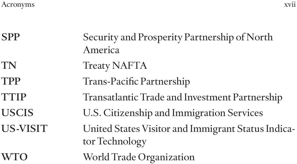 Transatlantic Trade and Investment Partnership U.S.